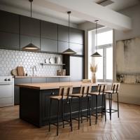 Industrialne krzesła – prosty sposób na podniesienie estetyki wnętrza
