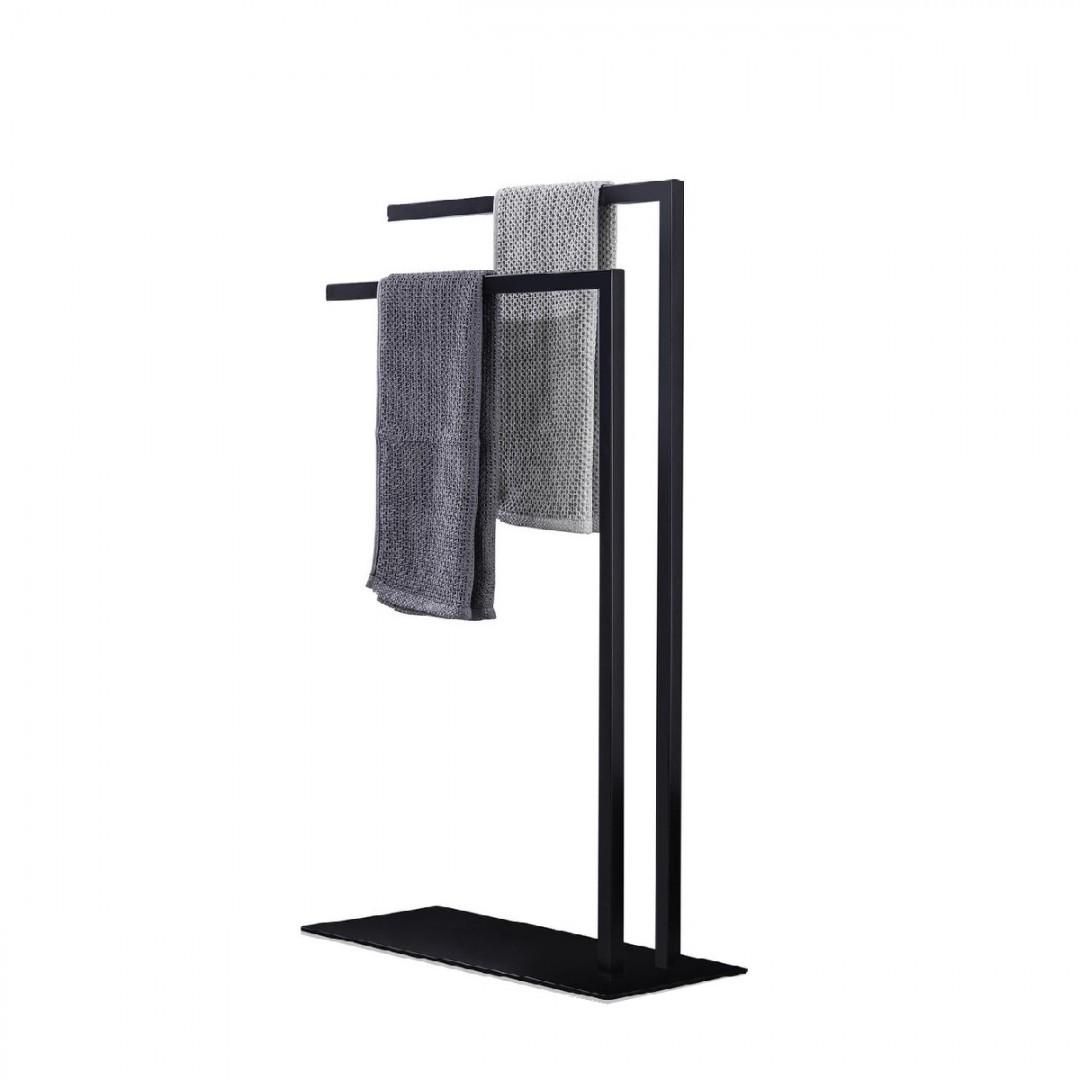 Metalowy stojak na ręczniki loft BACOLI