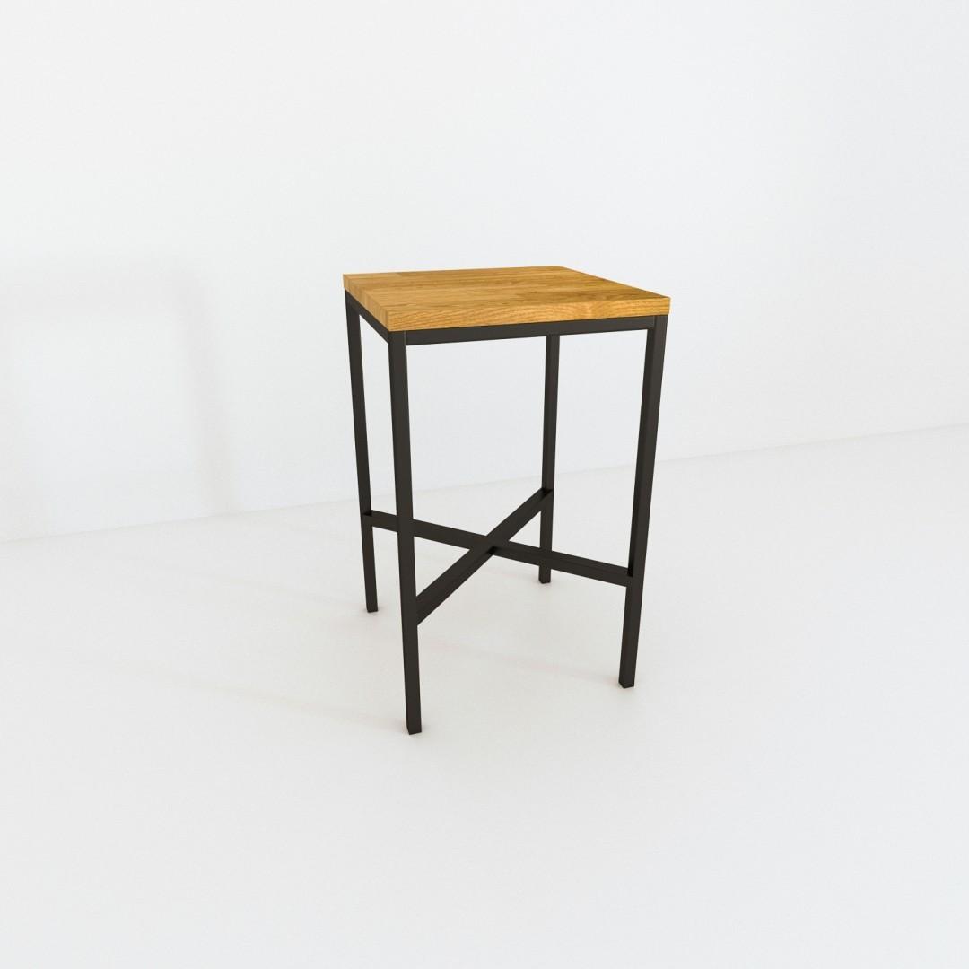 Industrialny stół do kuchni VITERBO  60x60x100