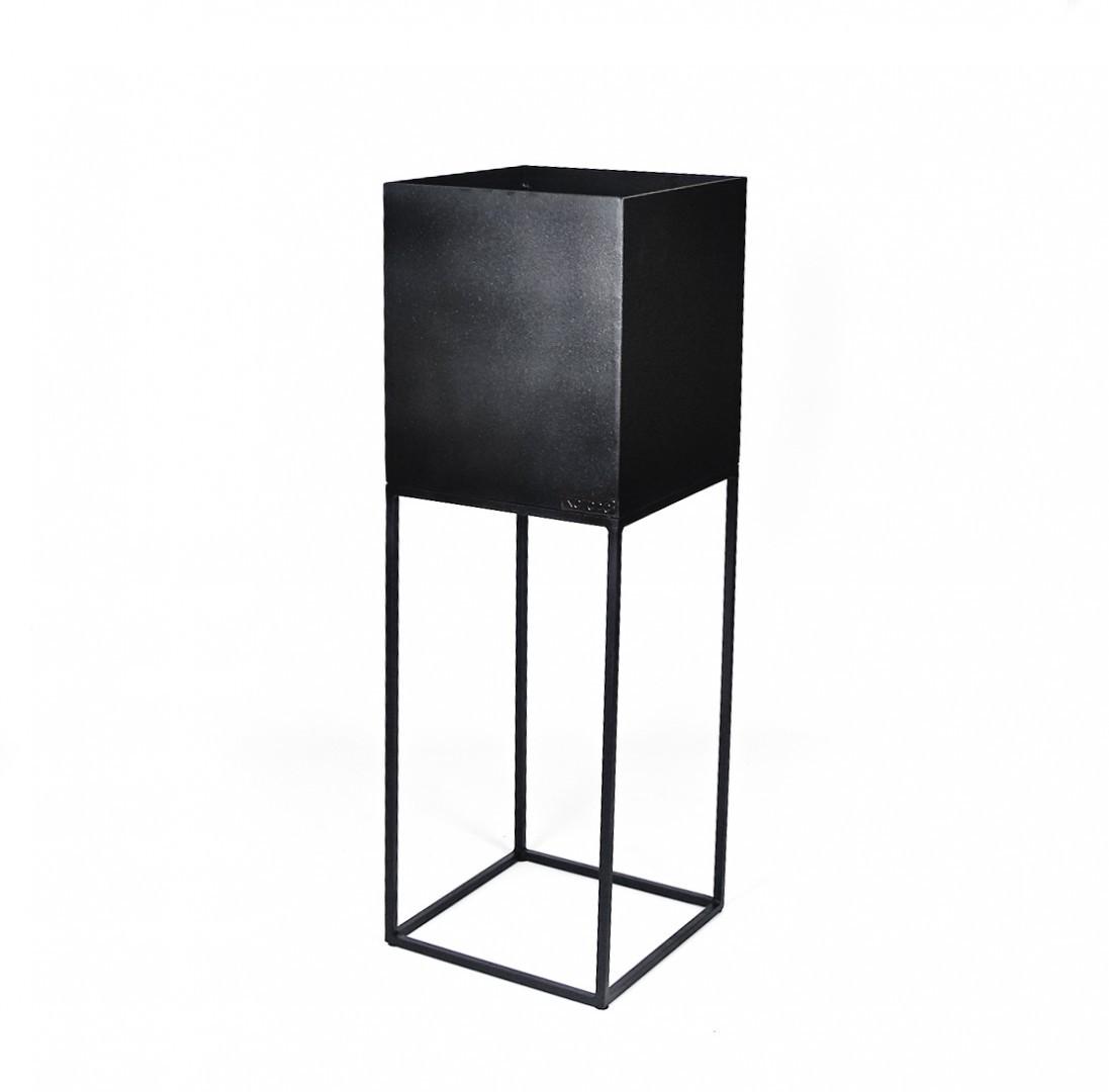 Donica z metalu 30x30x80 CALAFURIA